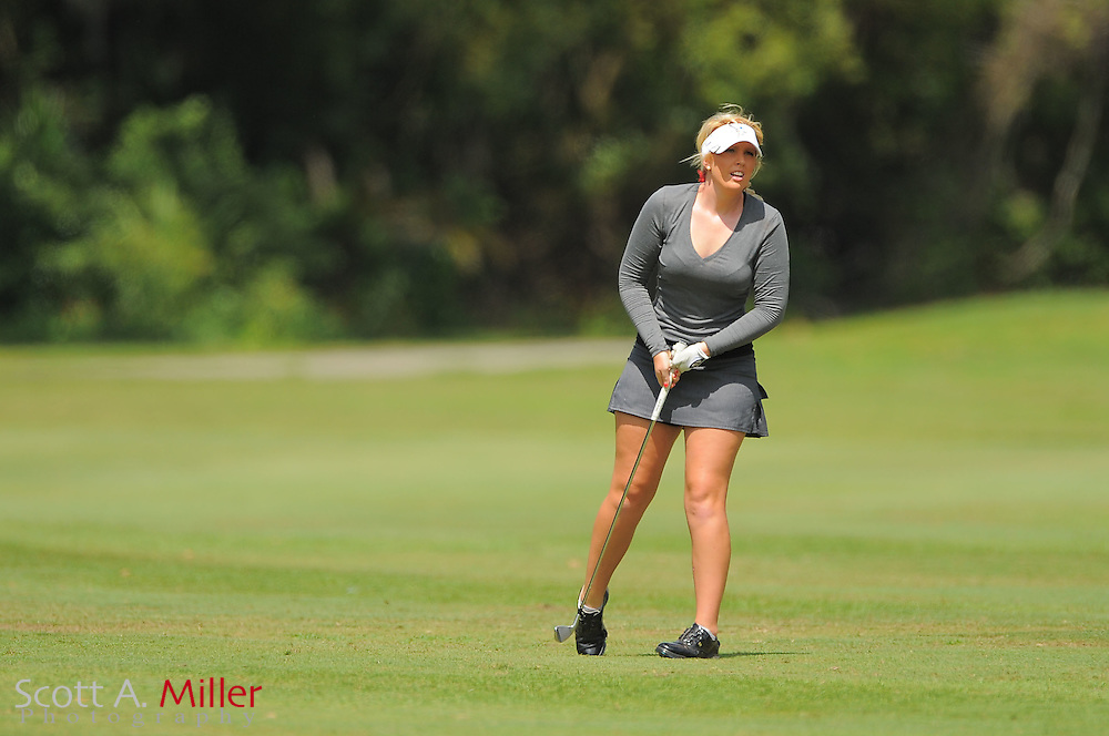 Rachel Connor during the second round of the Symetra Tour's Florida's Natural Charity Classic at the Lake Region Yacht and Country Club on March 24, 2012 in Winter Haven, Fla. ..©2012 Scott A. Miller.