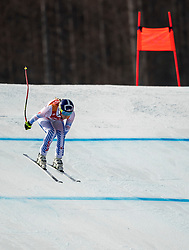 PYEONGCHANG-GUN, SOUTH KOREA - FEBRUARY 21:  Lindsey Vonn of the United States competes during the Ladies' Downhill on day 12 of the PyeongChang 2018 Winter Olympic Games at Jeongseon Alpine Centre on February 21, 2018 in Pyeongchang-gun, South Korea. Photo by Ronald Hoogendoorn / Sportida