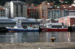 SPAIN GALICIA RIBEIRA 17DEC11 - Fishing boats moored in the port of Ribeira, Galicia, Spain...jre/Photo by Jiri Rezac..© Jiri Rezac 2011