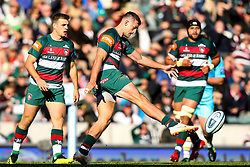 Jonny May of Leicester Tigers - Mandatory by-line: Robbie Stephenson/JMP - 23/09/2018 - RUGBY - Welford Road Stadium - Leicester, England - Leicester Tigers v Worcester Warriors - Gallagher Premiership