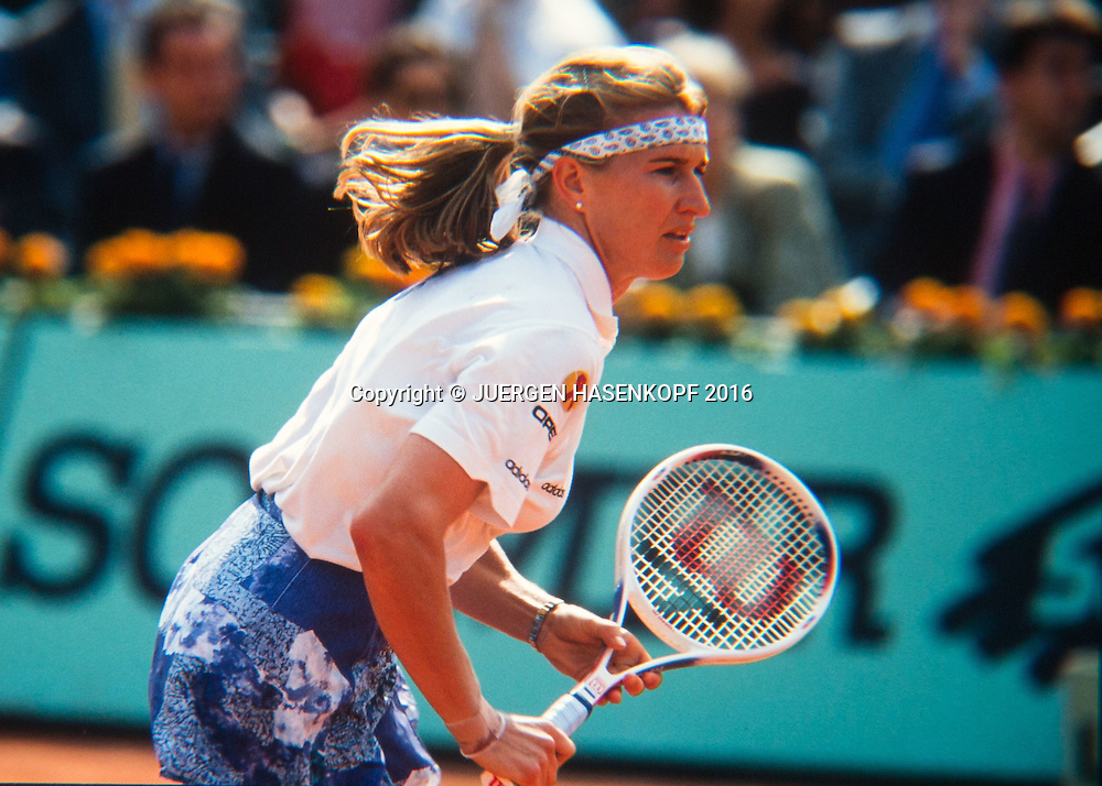 Steffi Graf (GER), Roland Garros, French Open 1994<br /> <br /> Tennis - French Open 1994 - Grand Slam ATP / WTA -  Roland Garros - Paris -  - France  - 24 November 2016.