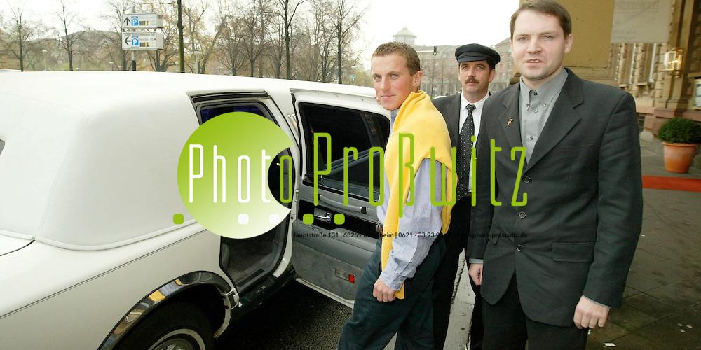 Mannheim. Be a Star. Gewinner der Ebay Auktion.<br /> <br /> Bild: Pro&szlig;witz