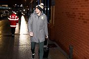 Leeds United defender Luke Ayling (2) arriving during the EFL Sky Bet Championship match between Leeds United and Hull City at Elland Road, Leeds, England on 10 December 2019.