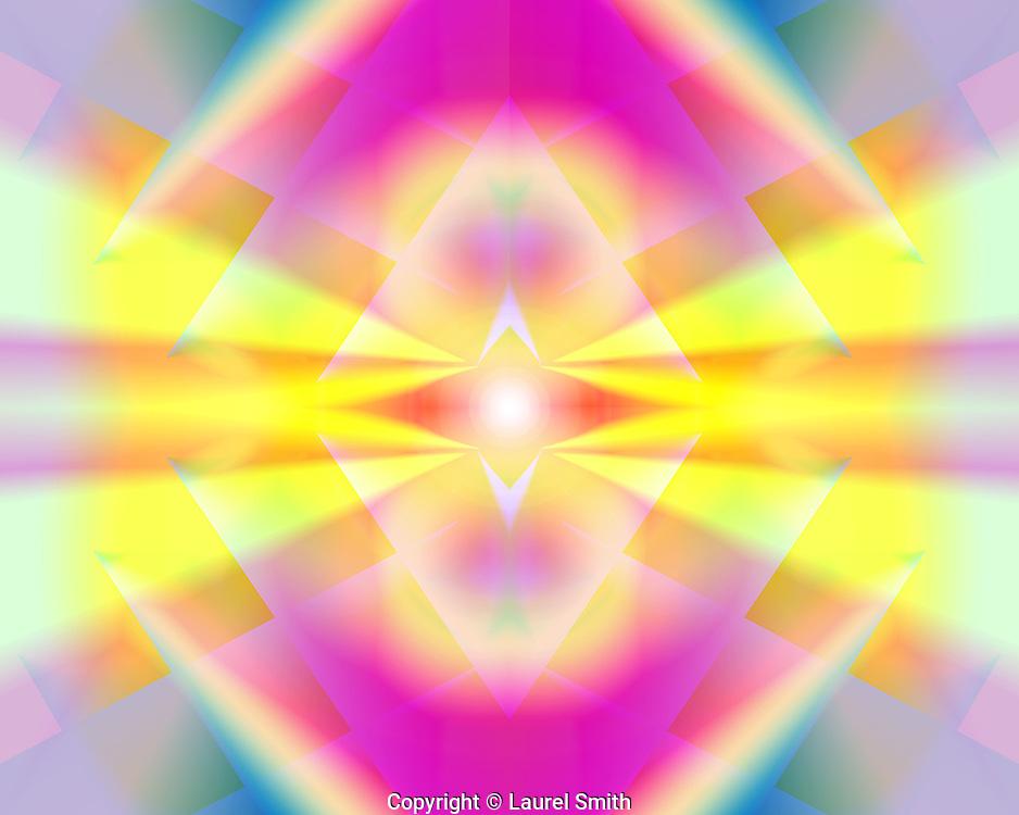 &quot;ILLUMINATION&quot;  ~  Transmissions of Light bringing ILLUMINATION.<br /> &copy; Laurel Smith