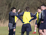 Dundee manager Neil McCann - Dundee FC training , Picture by David Young -