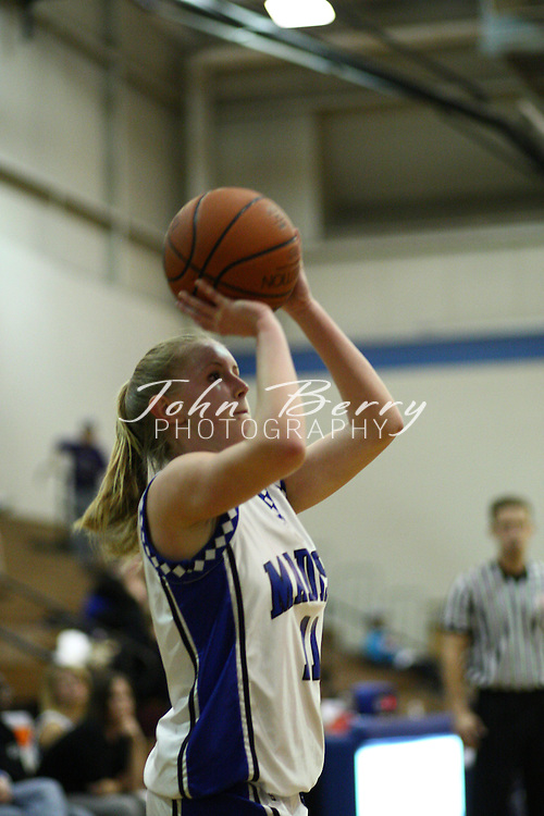 MCHS Varsity Girls Basketball.vs Strasburg.1/29/2008..