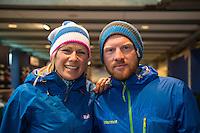 Squash Falconer and Dave Cornthwaite as seen in a sport centrum in Utrecht.