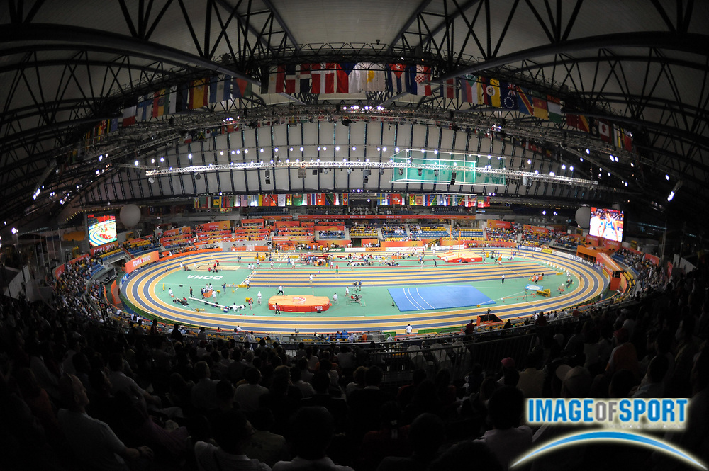 Mar 12, 2010; Doha, QATAR; General view of the IAAF World Indoor Championships in Athletics at the Aspire Dome.