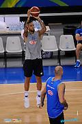 DESCRIZIONE: Torino FIBA Olympic Qualifying Tournament Allenamento<br /> GIOCATORE: Daniel Lorenzo Hackett<br /> CATEGORIA: Nazionale Maschile Senior Allenamento<br /> GARA: FIBA Olympic Qualifying Tournament Allenamento<br /> DATA: 05/07/2016<br /> AUTORE: Agenzia Ciamillo-Castoria