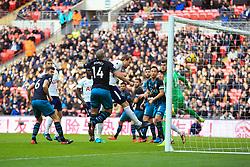26 December 2017 -  Premier League - Tottenham Hotspur v Southampton - Harry Kane of Tottenham Hotspur scores the opening goal, breaking Alan Shearer's record for the most Premier League goals scored in a calendar year - Photo: Marc Atkins/Offside