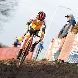 11-01-2020: Wielrennen: NK Veldrijden: Rucphen<br />Ingmar van den Borsh