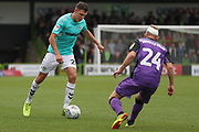 Forest Green Rovers Paul Digby(20) on the ball during the EFL Sky Bet League 2 match between Forest Green Rovers and Port Vale at the New Lawn, Forest Green, United Kingdom on 8 September 2018.