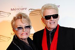 15.01.2016, Mercure Hotel MOA Berlin, Berlin, GER, Smago Award, Roter Teppich, im Bild Hannelore und Heino // on the red carpet for the awards ceremony of Smago Award Mercure Hotel MOA Berlin in Berlin, Germany on 2016/01/15. EXPA Pictures © 2016, PhotoCredit: EXPA/ Eibner-Pressefoto/ Eibner-Pressefoto<br /> <br /> *****ATTENTION - OUT of GER*****