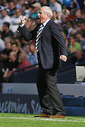 Rangers' manager Walter Smith rages during the Homecoming Scottish FA Cup Final between Falkirk and Rangers at Hampden Park (picture by David Young - 07765 252616)