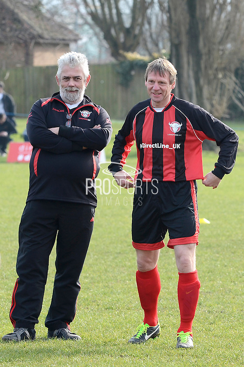 GLOUCESTERSHIRE, ENGLAND – MARCH 12: Stuart Pearce makes his debut for non-league Longford AFC as part of the #directfix campaign by Direct Line. Nick Dawe