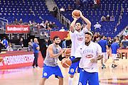 DESCRIZIONE : Berlino Eurobasket 2015 Islanda Italia<br /> GIOCATORE : Danilo Gallinari<br /> CATEGORIA : riscaldamento pre game pregame<br /> SQUADRA : Italia<br /> EVENTO : Eurobasket 2015<br /> GARA : Islanda Italia<br /> DATA : 06/09/2015<br /> SPORT : Pallacanestro<br /> AUTORE : Agenzia Ciamillo&shy;Castoria/M.Longo<br /> Galleria : Eurobasket 2015<br /> Fotonotizia : Berlino Eurobasket 2015 Islanda Italia