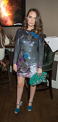 LADY ELIZA MANERS at the Tatler Little Black Book Party at Home House Member's Club, Portman Square, London supported by CARAT on 11th November 2015.