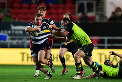 Andy Uren of Bristol Rugby makes a break  - Mandatory by-line: Alex Davidson/JMP - 08/12/2017 - RUGBY - Ashton Gate Stadium - Bristol, England - Bristol Rugby v Leinster 'A' - B&I Cup