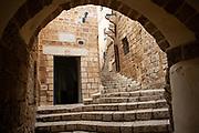 The St. Michael's Greek Orthodox Church in Old Jaffa, Israel