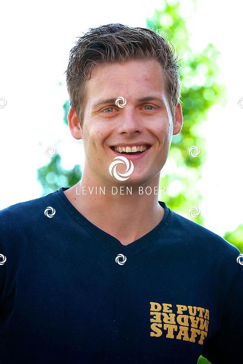 AMMERZODEN - De voetballer John Pootjes is geportretteerd. FOTO LEVIN DEN BOER - PERSFOTO.NU