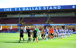Bristol Rovers and bradford city walk out. - Mandatory by-line: Alex James/JMP - 17/09/2016 - FOOTBALL - Coral Windows Stadium - Bradford, England - Bradford City v Bristol Rovers - Sky Bet League One
