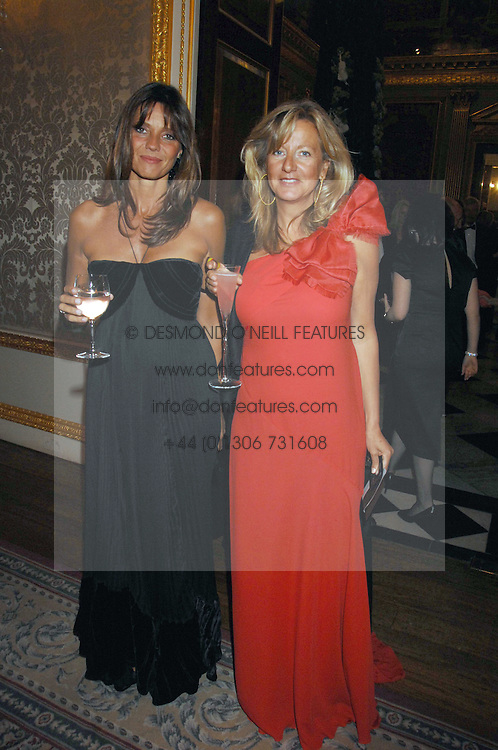 Left to right, COUNTESS DEBONAIRE VON BISMARCK and PRINCESS CHANTAL OF HANOVER at the Ark 2007 charity gala at Marlborough House, Pall Mall, London SW1 on 11th May 2007.<br /><br />NON EXCLUSIVE - WORLD RIGHTS