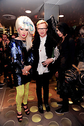 JODIE HARSH, HENRY CONWAY and NAT WELLER at a party to celebrate the Firetrap Watches and Kate Moross Collaboration Launch, held at Firetrap, 21 Earlham Street, London, UK on 13th October 2010.