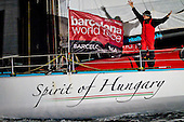 Spirit of Hungary  - Barcelona World Race befutó