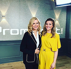 """Veronica Ferres releases a photo on Instagram with the following caption: """"#tb @vox_prominent mit @ninabott - war toll! Was sind Eure Wochenend-Pl\u00e4ne? \u2b50\ufe0f\u263a\ufe0f\u2665\ufe0f #vox #voxprominent #tgif #friday #throwback #weekend #weekendvibes #fridayvibes"""". Photo Credit: Instagram *** No USA Distribution *** For Editorial Use Only *** Not to be Published in Books or Photo Books ***  Please note: Fees charged by the agency are for the agency's services only, and do not, nor are they intended to, convey to the user any ownership of Copyright or License in the material. The agency does not claim any ownership including but not limited to Copyright or License in the attached material. By publishing this material you expressly agree to indemnify and to hold the agency and its directors, shareholders and employees harmless from any loss, claims, damages, demands, expenses (including legal fees), or any causes of action or allegation against the agency arising out of or connected in any way with publication of the material."""