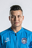 **EXCLUSIVE**Portrait of Chinese soccer player Mirahmetjan Muzepper of Tianjin TEDA F.C. for the 2018 Chinese Football Association Super League, in Tianjin, China, 28 February 2018.