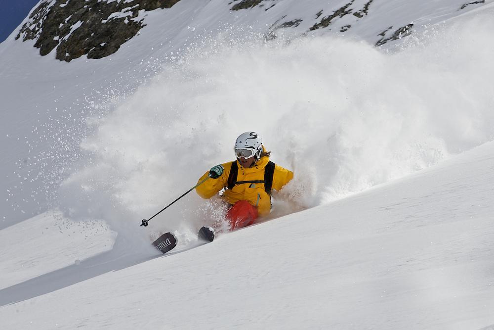 Olof Larsson and Petter Berggrund, Skiing Serre Chevalier
