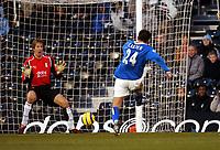 Fotball<br /> Premier League 2004/05<br /> Fulham v Birmingham<br /> 28. desember 2004<br /> Foto: Digitalsport<br /> NORWAY ONLY<br /> DARREN CARTER SCORES BIRMINGHAM'S 2ND GOAL