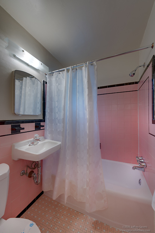 Interior photo of  Bathroom at The Admiralty Apartments In Arlington VA by Jeffrey Sauers of Commercial Photographics, Architectural Photo Artistry in Washington DC, Virginia to Florida and PA to New England