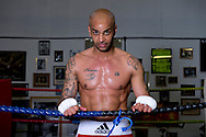 Picture by Alex Broadway/Focus Images Ltd +44 7905 628183<br /> 29/05/2013<br /> Leon McKenzie poses after a workout at Duke McKenzie Fitness Centre, Crystal Palace, London.