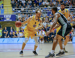 November 1, 2017 - Italy - Basketball Eurocup match between. Fiat Torino Auxilium and Darussafaka Basketball Istanbul. (Credit Image: © Federica Manzin/Pacific Press via ZUMA Wire)