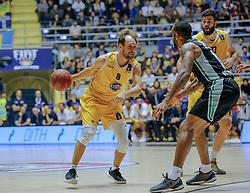 November 1, 2017 - Italy - Basketball Eurocup match between. Fiat Torino Auxilium and Darussafaka Basketball Istanbul. (Credit Image: © Federica Manzin/Pacific Press via ZUMA Wire)