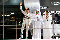 ROSBERG nico (ger) mercedes gp mgp w06 ambiance podium during the 2015 Formula One World Championship, Abu Dhabi Grand Prix from November 27th to 29th 2015 in Yas Marina. Photo Florent Gooden / DPPI