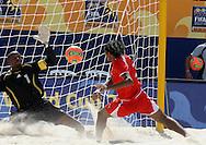 Footbal-FIFA Beach Soccer World Cup 2006 -BHR x NGA - Ebrahim and Isa- Rio de Janeiro, Brazil - 01/11/2006.<br />Mandatory Credit: FIFA/Ricardo Ayres