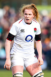 Catherine O'Donnell of England Women - Mandatory by-line: Robbie Stephenson/JMP - 10/02/2019 - RUGBY - Castle Park - Doncaster, England - England Women v France Women - Women's Six Nations