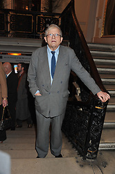 DAVID HOCKNEY at a private view to celebrate the opening of the Royal Academy's exhibition of work by David Hockney held at The Royal Academy, Burlington House, Piccadilly, London on 17th January 2012.