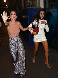 'Love Island' Amber Davies leaves Opal nightclub crying, with just her sister as company, following a fight between her boyfriend Kem Cetinay and Rykard Jenkins, who was on the same TV show a year ago. Rykard was left covered in blood, and while Kem was not seen to throw any punches himself, three of his friends were. Club security allowed Kems pals to stay in the venue, but ejected Rykard, who was badly beaten, and had his shirt ripped from his back. Amber was then seen by onlookers to be physically held back by bouncers from attacking Rykard herself. The whole fight, according to a ranting Rykard on his twitter page...had started because he got accused of trying to flirt with Amber. Kem took to Twitter to claim he knew nothing about what was going on. But as he left the club smiling and alone, he was seen shaking hands with the three men that attacked Rykard, before then getting close to a female admirer. This was despite him saying on Twitter he left the venue with Amber! Rykard posted a selfie on Twitter, showing his busted lip, and a badly bruised nose. <br /><br />25 August 2017.<br /><br />Please byline: Vantagenews.com