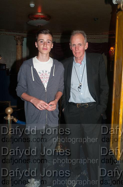 TOM FOX; JAMES FOX, The Hoping Foundation  'Rock On' benefit evening for Palestinian refugee children.  Cafe de Paris, Leicester Sq. London. 20 June 2013