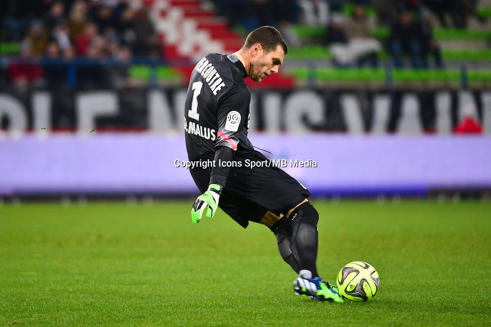 Remy VERCOUTRE - 06.12.2014 - Caen / Nice - 17eme journee de Ligue 1 -<br />