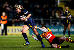 Lucy Lockhart of Worcester Warriors Women - Mandatory by-line: Robbie Stephenson/JMP - 11/01/2020 - RUGBY - Sixways Stadium - Worcester, England - Worcester Warriors Women v Richmond Women - Tyrrells Premier 15s