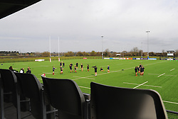 General views inside the stadium - Mandatory by-line: Nizaam Jones/JMP - 23/03/2019 - RUGBY - Shaftesbury Park - Bristol, England - Bristol Bears Women v Richmond Women- Tyrrells Premier 15s