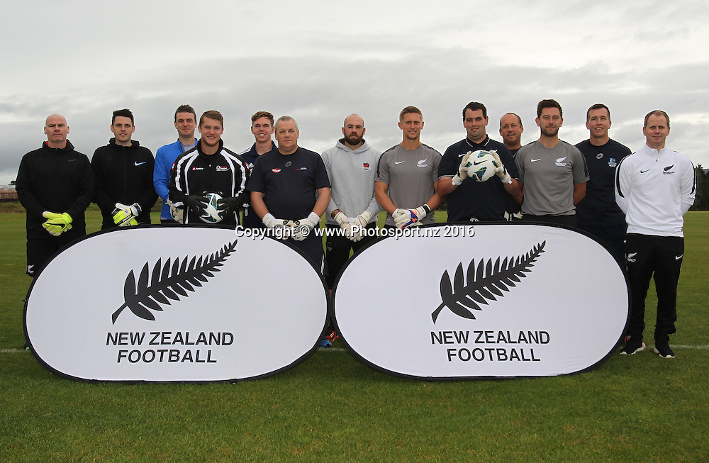 New Zealand Football GK Coach Education Course, Bruce Pulman Lodge Papakura, Sunday 17th April 2016. Copyright Photo: Ben Campbell / www.photosport.nz