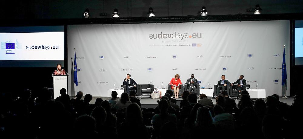 04 June 2015 - Belgium - Brussels - European Development Days - EDD - Migration - Migration is development - Making migration a driver for development © European Union