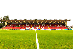 A general view of the Co-op Community stand at Sincil Bank Stadium, home to Lincoln City - Mandatory by-line: Ryan Crockett/JMP - 08/09/2018 - FOOTBALL - Sincil Bank Stadium - Lincoln, England - Lincoln City v Crawley Town - Sky Bet League Two