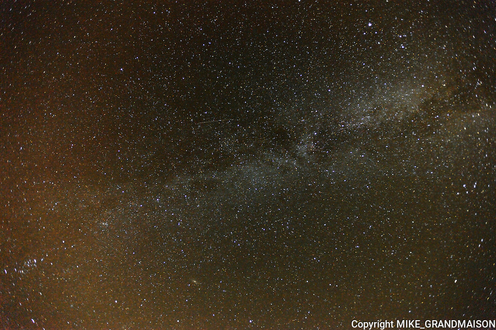 Milky way and stars<br />Grasslands National Park<br />Saskatchewan<br />Canada