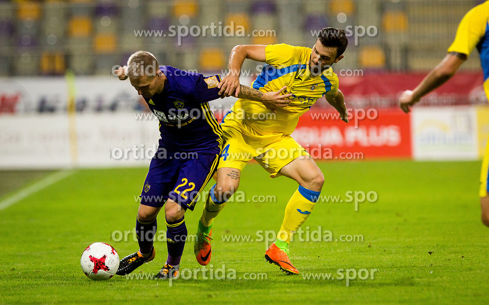 Martin Milec of NK Maribor during football match between NK Maribor and NK Domzale in 5th Round of Prva liga Telekom Slovenije 2017/18, on August 11, 2017 in Ljudski vrt, Maribor, Slovenia. Photo by Ziga Zupan / Sportida